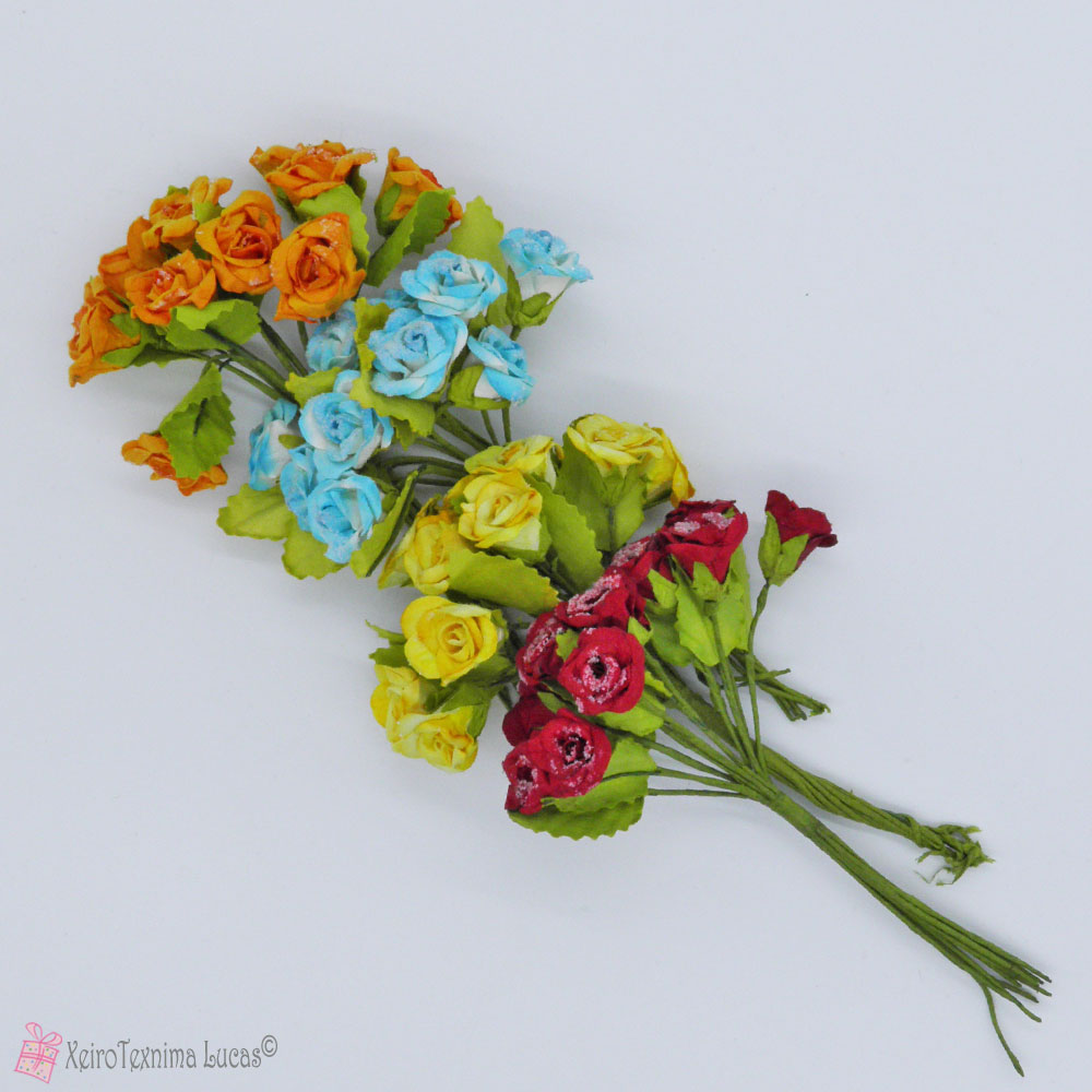 Χάρτινα λουλούδια