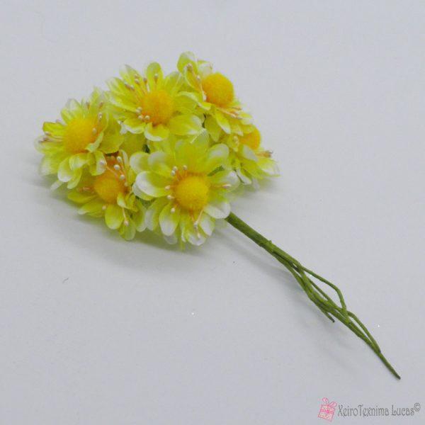 Κίτρινα διακοσμητικά λουλούδια
