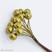 χρυσοί καρποί με συρματάκι