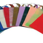 χρωματιστές πλαστικές σακουλες