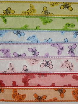 κορδέλες με πεταλούδες