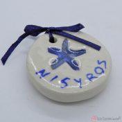 κεραμικό μαγνητάκι Νίσυρος