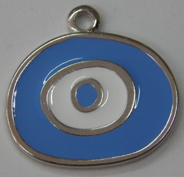 μάτι με γαλάζιο σμάλτο Νο1