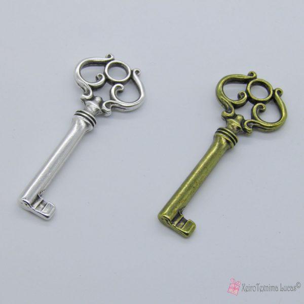 Μεταλλικό κλειδί, επάργυρο και μπρονζέ
