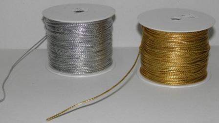 Κορδόνι χρυσό και ασημί 01.06.0038