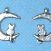 φεγγάρι με γάτα μεταλλικό 16.04.0391