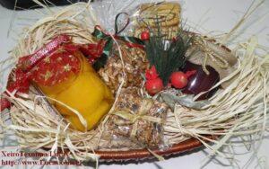 χριστουγεννιάτικα καλάθια