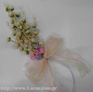 DIY στεφάνι με λουλούδια