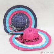 Γυναικεία ψάθινα καπέλα