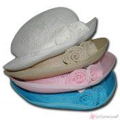 παιδικά ψάθινα καπέλα