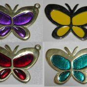 πεταλούδες με σμάλτο