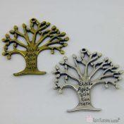 Δέντρο μεταλλικό με ευχές
