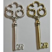 Μεταλλικά χυτά κλειδιά σε ασημί ή μπρονζέ χρώμα