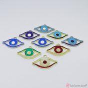 Μεταλλικά μάτια με σμάλτο σε πολλά χρώματα