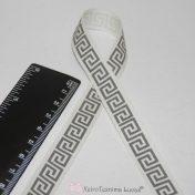 Κορδέλα μαίανδρος - Greek Key Ribbon