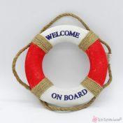 κόκκινο σωσίβιο welcome on board