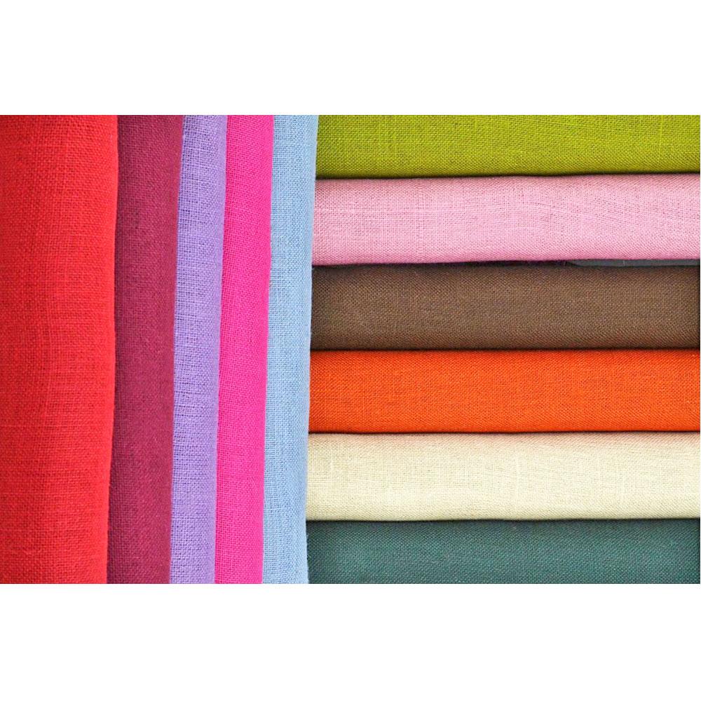Ύφασμα Λινάτσα σε διάφορα χρώματα
