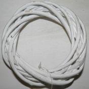 Στεφάνι άσπρο