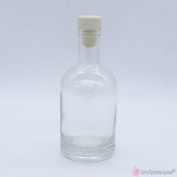 γυάλινο μπουκαλάκι με φελλό