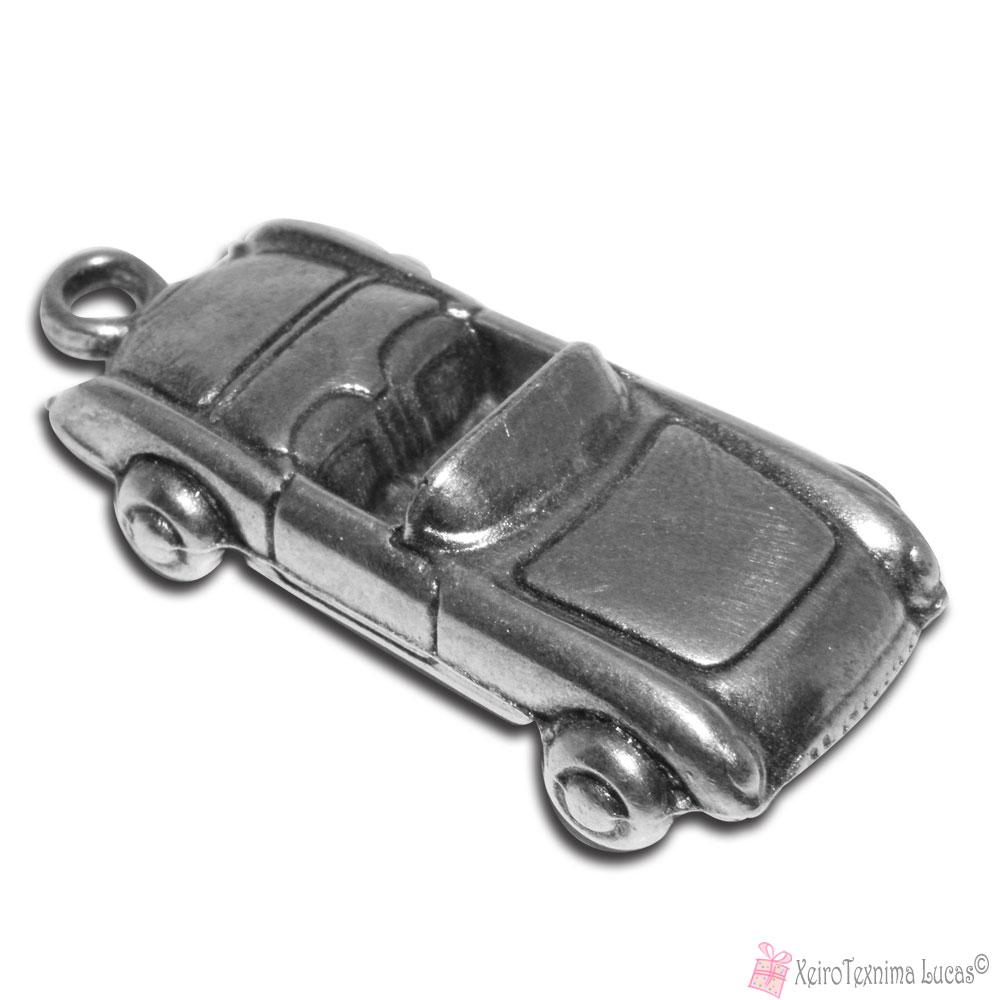 μεταλλικό επάργυρο αυτοκινητάκι