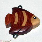 ξύλινο κρεμαστό ψαράκι
