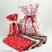 Χριστουγεννιάτικα πουγκιά τσόχασ