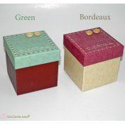 χάρτινα κουτιά τετράγωνα