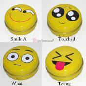 Emoticons κουτιά στρογγυλά