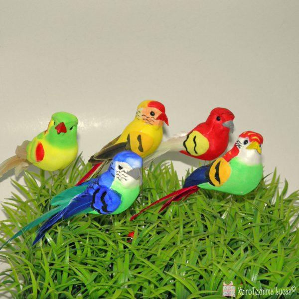 Διακοσμητικά παπαγαλάκια