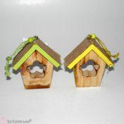 ξύλινα σπιτάκια