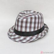 Καρρώ υφασμάτινο καπέλο