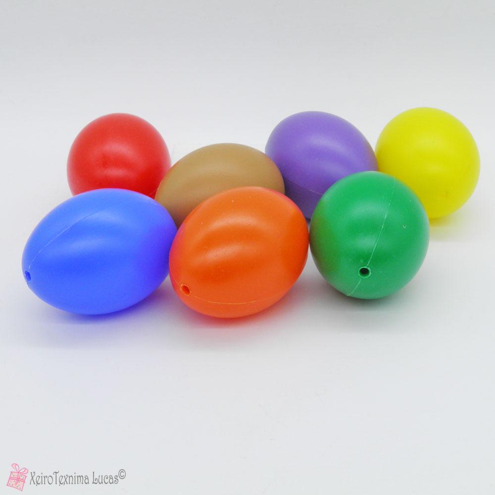 πλαστικά διακοσμητικά αυγά για χειροτεχνίες