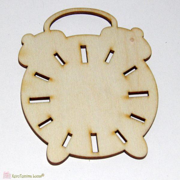 ξύλινη ρολόι