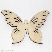 ξύλινη πεταλουδα