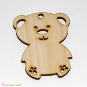 ξύλινο αρκουδάκι