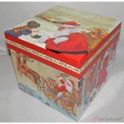 τετράγωνο χριστουγεννιάτικο κουτί