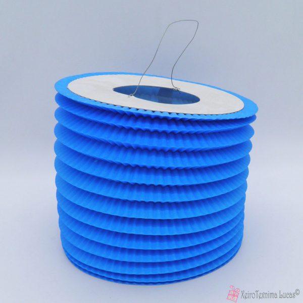μπλε χάρτινα πασχαλινά φαναράκια
