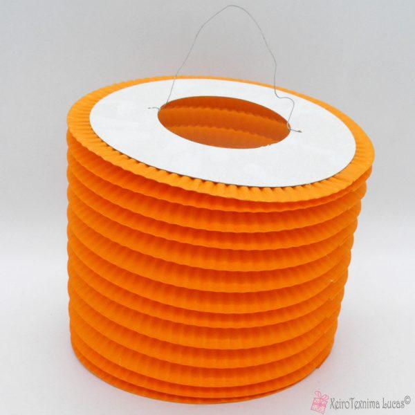 πορτοκαλί χάρτινα πασχαλινά φαναράκια