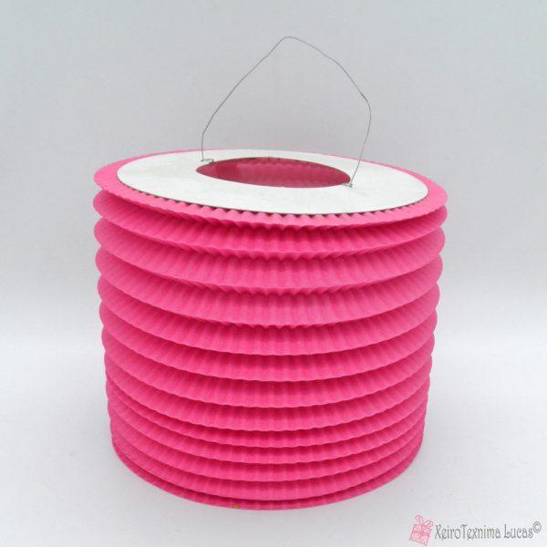 ροζ χάρτινα πασχαλινά φαναράκια