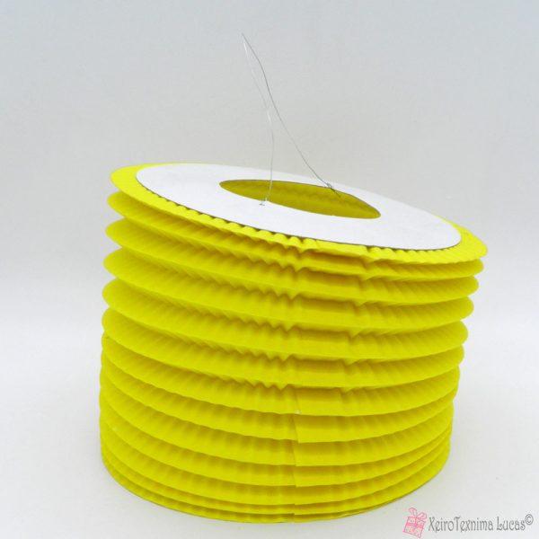 κίτρινα χάρτινα πασχαλινά φαναράκια
