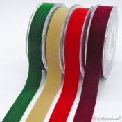 Βελούδινες κορδέλες σε πολλά χρώματα