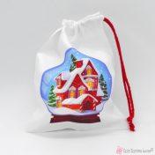 Χριστουγεννιάτικο πουγκί συσκευασίας
