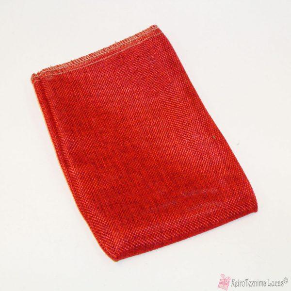 Κόκκινο πουγκί συσκευασίας