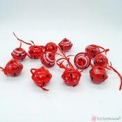 Κόκκινα μεταλλικά κουδούνια