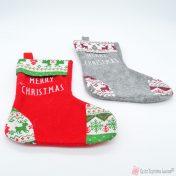 χριστουγεννιάτικες κάλτσες merry christmas