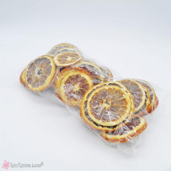 Αποξηραμένα πορτοκάλια για διακόσμηση