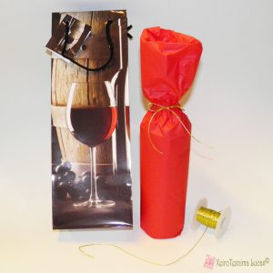 Πως θα συσκευάσω ένα κρασί σε τσάντα