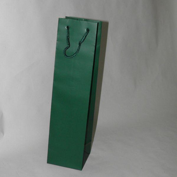 Κυπαρισσί τσάντα για μια φιάλη