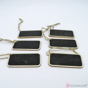 Gift tags μαυροπίνακας