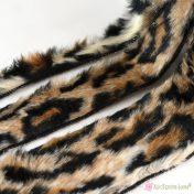 Λεοπάρ γούνινη κορδέλα